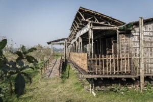 Strong and Stable Bamboo Made School Structure of Arcadia Education Project
