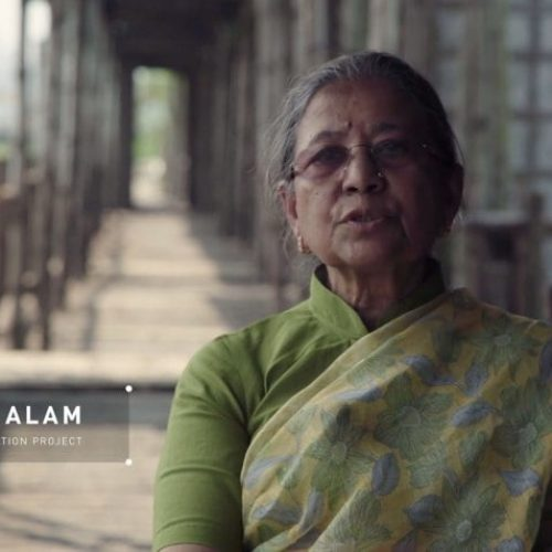 Razia Alam, Founder of Arcadia Education Project, Chairperson of Maleka Welfare Trust, Dhaka, Bangladesh